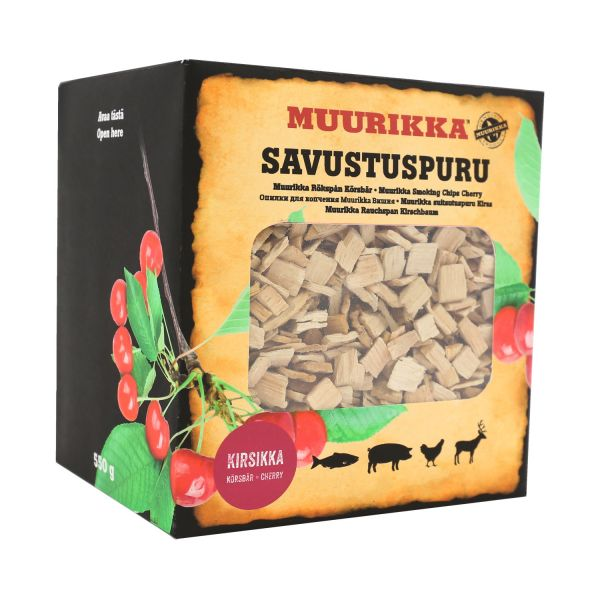 Muurikka Räucherchips Kirsche, 550g