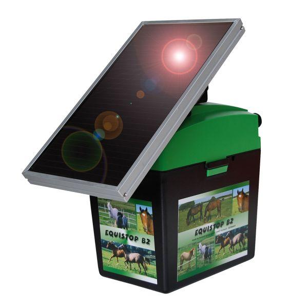 horizont equiSTOP B2 Solar Weidezaungerät für Pferde