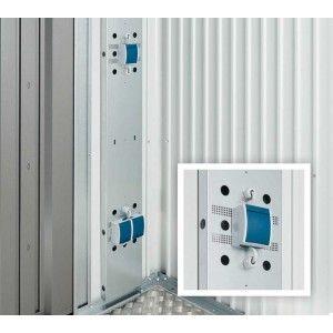Biohort Elektro-Montagepaneel für Europa und Geräteschrank