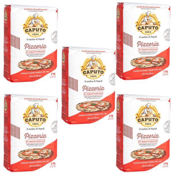 Caputo Pizzeria Tradizionale Pizzamehl Spar-Set