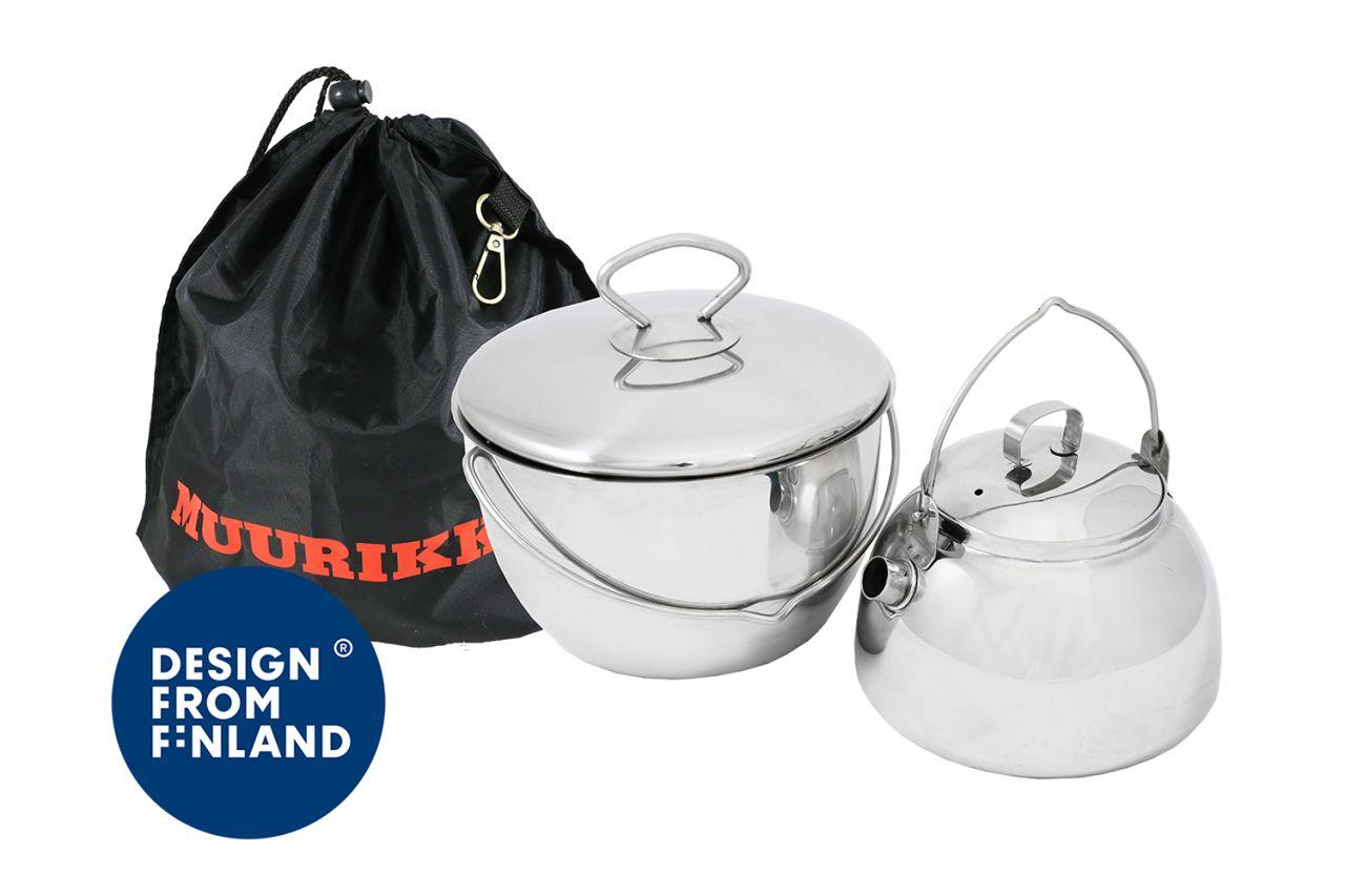 Muurikka Topf & Kanne für Lagerfeuer 54520070