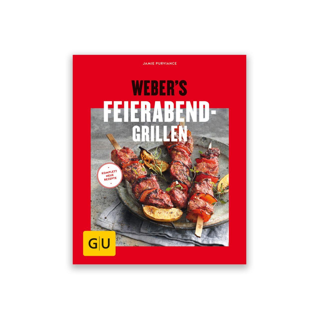 Grillbuch Weber's Feierabend Grillen 978-3-8338-6538-1