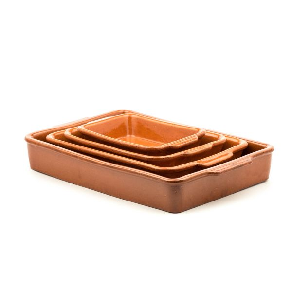 Mediterrane Keramikform »Tapsi«
