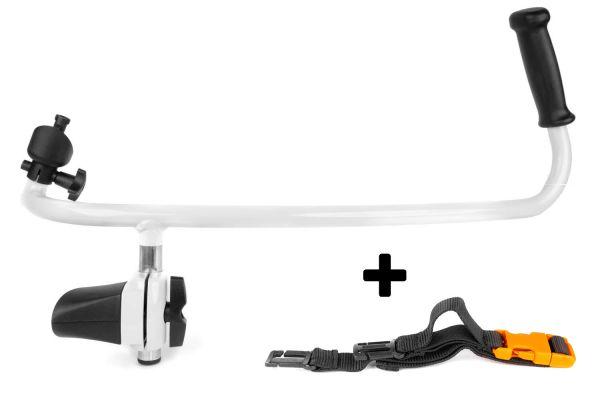 STIHL Zweihandgriff + ADVANCE Brustgurt für BR Profi-Laubbläser
