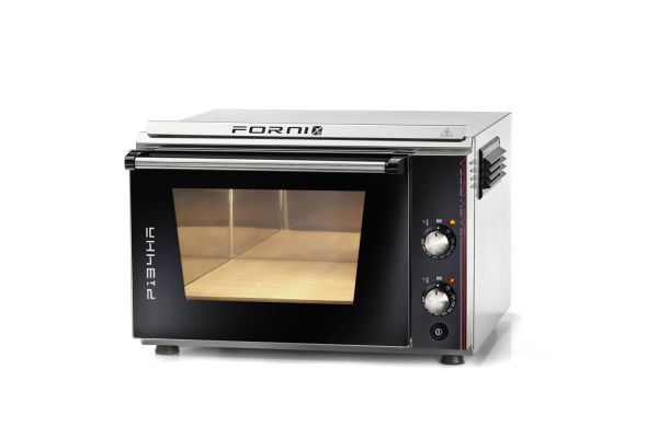 EFFEUNO P134HA 509 Elektro Pizzaofen, inkl. Biscotto-Pizzastein - Modell 2021