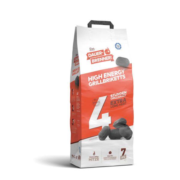 Dauerbrenner High Energy Grillbriketts (7kg)