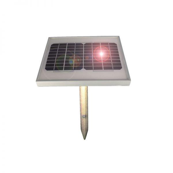 horizont monokristallines Solarmodul 5 W, inkl. Halterung