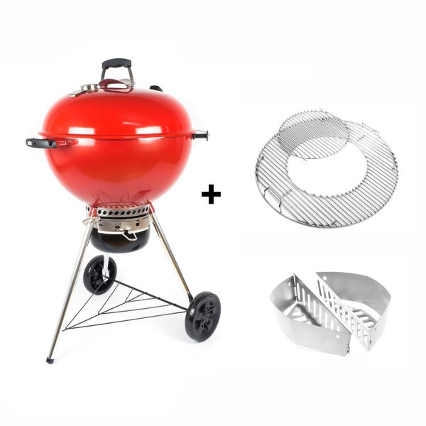 Weber Master-Touch GBS, 57cm, Rot, Limited Special Edition