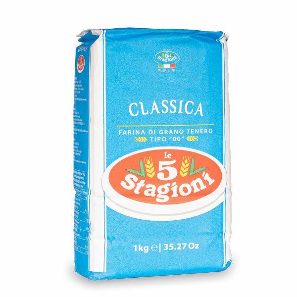 Le 5 Stagioni Classica Pizzamehl Typ 00, 1kg