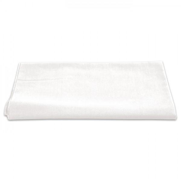 Baumwollstoff Meterware 145cm breit uni weiß 100% Baumwolle