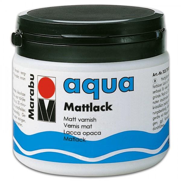 Marabu aqua Seidenmattlack 500ml