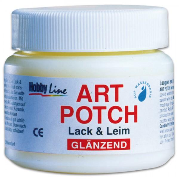 Art Potch Lack & Leim glänzend 250ml