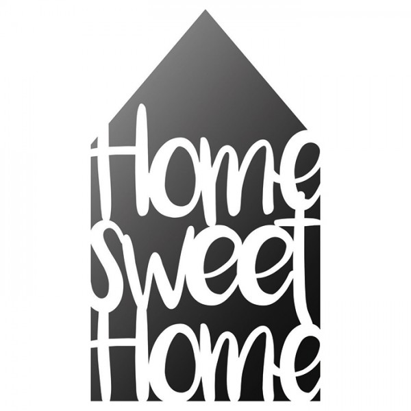 Universal-Schablone DIN A4 Home Sweet Home Kunststoff