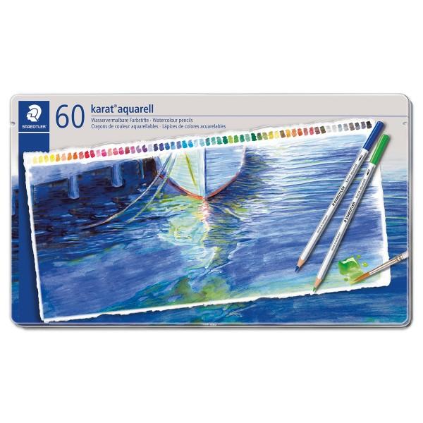 karat aquarell 125 Mine 3mm 60 Farbstifte wasservermalbar