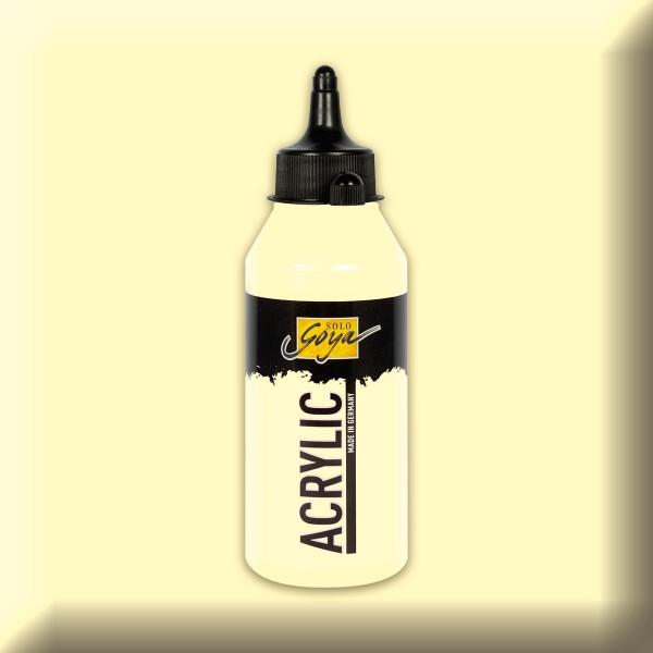SOLO GOYA Acrylic 250ml elfenbein Acrylfarbe