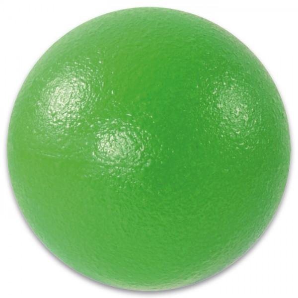 Schaumball Ø 9cm grün PU-Schaum mit Elefantenhaut