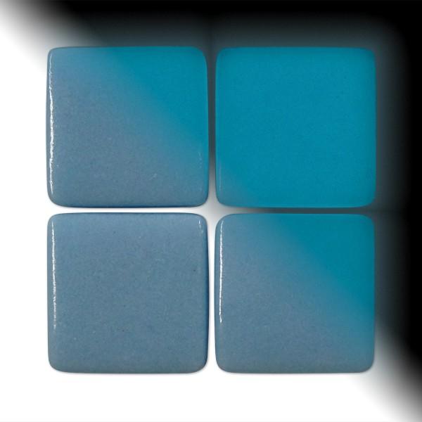 Mosaik Neon-Glas 25x25x4-4,5mm 250g Tag/Nacht blau/blau ca. 45 Steine