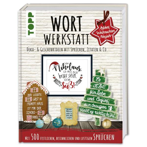 Buch - Wort Werkstatt Advent ... 160 Seiten, 25x19,5cm, Hardcover