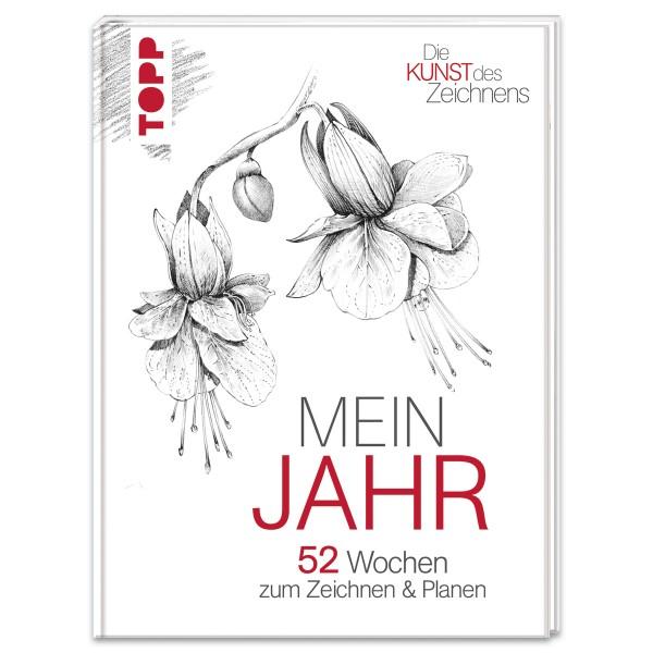 Buch - Die Kunst des Zeichnens: Mein Jahr 128 Seiten, 14,5x19,5cm, Hardcover