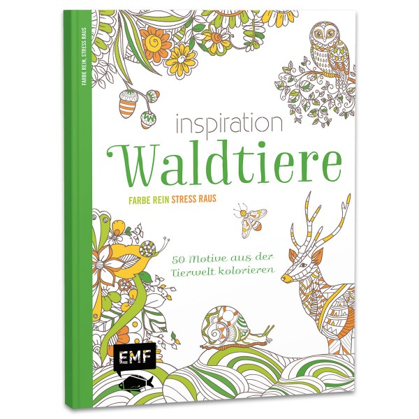 Buch - Inspiration Waldtiere 64 Seiten, 22x17cm, Softcover