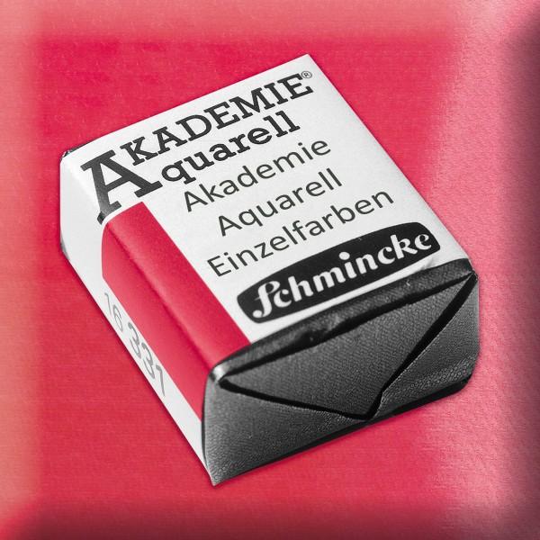 Akademie Aquarell 1,6ml karmin ½ Näpfchen
