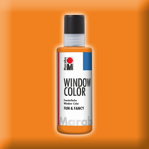 Marabu fun&fancy 80ml orange Windowcolor