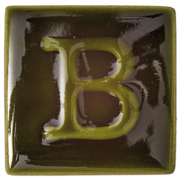 BOTZ Flüssigglasur bleifrei 200ml olivgrün