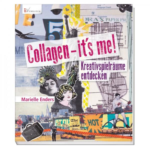 Buch - Collagen - its me! 80 Seiten, 21,6x25,2cm, Softcover