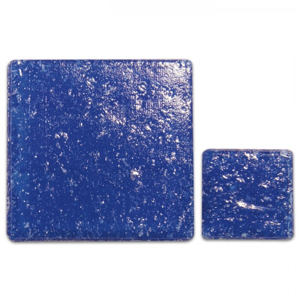 Glasmosaik Joy 10x10x4mm 200g royalblau ca. 290 Steine