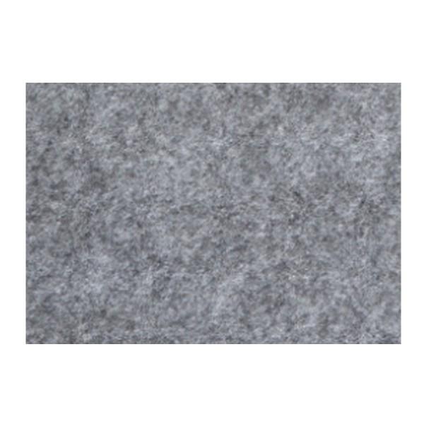 Bastelfilz ca. 2mm 20x30cm graumeliert 150g/m², 100% Polyester, klebefleckenfrei