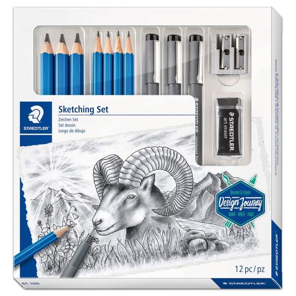 Sketching Set 12-teilig