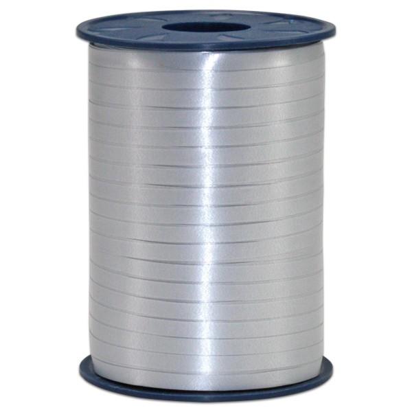 Kräuselband Kunststoff 5mm 500m silber