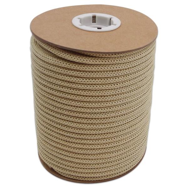 Makramee-Garn - Kordel aus Papier 4mm 30m natur aus recyceltem Material