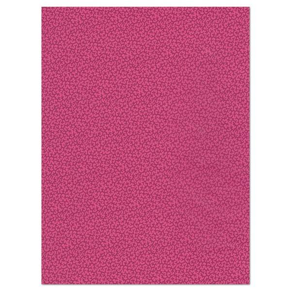 Decoupagepapier Rankenmuster pink/lila von Décopatch, 30x40cm, 20g/m²