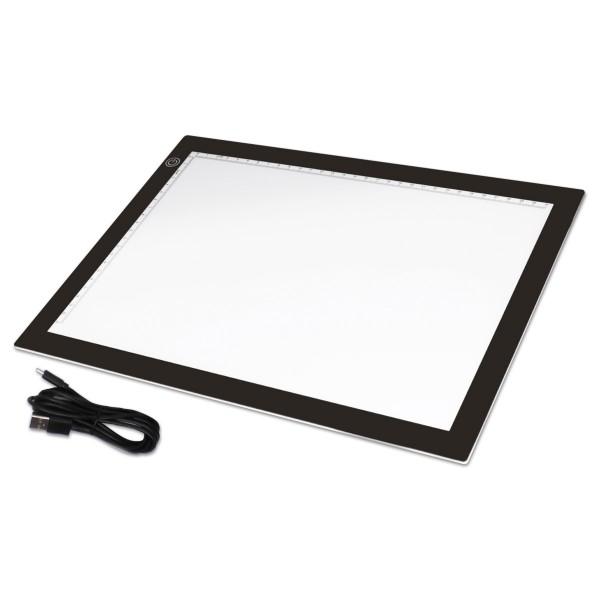 Lightpad/Lichtkasten Dotzlite Deluxe 36x27x0,5cm mit USB-Kabel