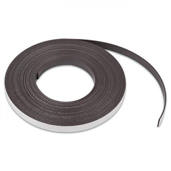 Magnetstreifen selbstklebend 12,5mm breit 1m 1,5mm stark