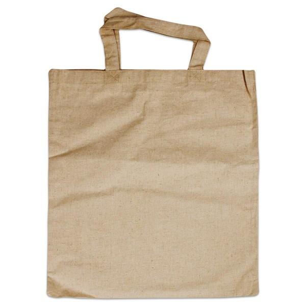 Einkaufstasche 38x42cm natur 55% Leinen, 45% Baumwolle