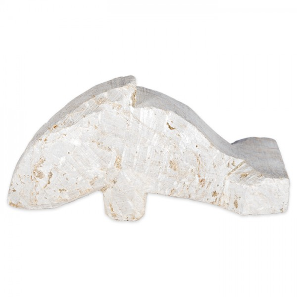 Speckstein-Rohling ca. 8-10cm Delfin Farbe zufällig