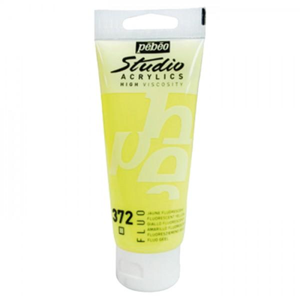 Acrylfarbe fluoreszierend 100ml gelb schwarzlichtgeeignet