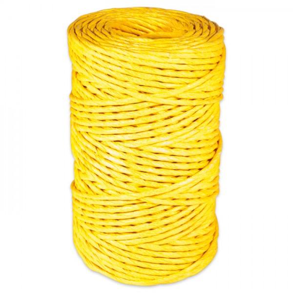 CREApop Papierdraht ca. 2mm 50m gelb