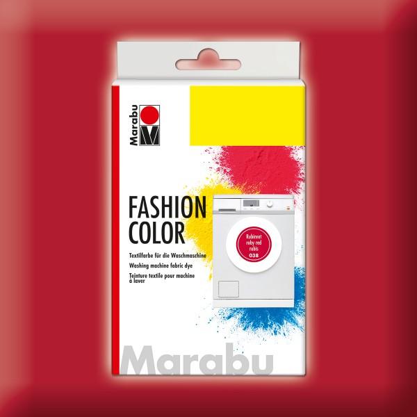 Marabu Fashion Color 30g rubinrot kochechte Textilfarbe
