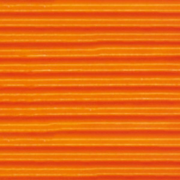 Bastelwellpappe 260g/m² 50x70cm 10 Bl. orange