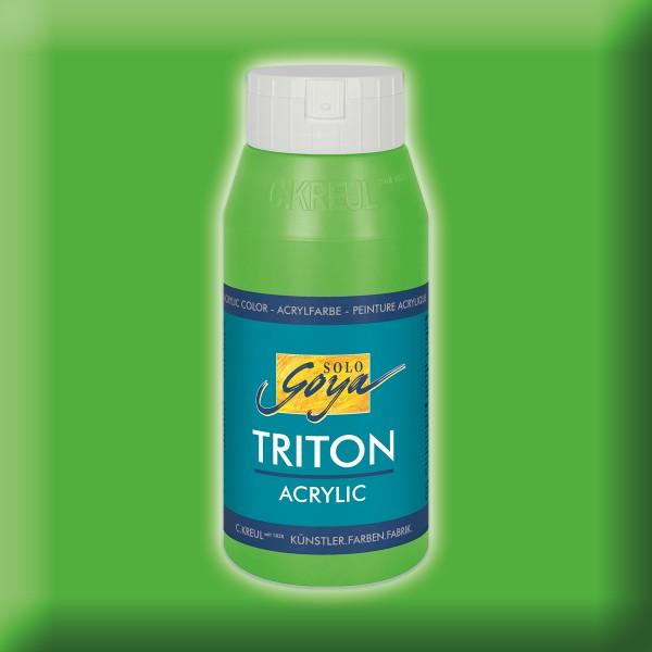 Triton Acrylfarbe 750ml gelbgrün