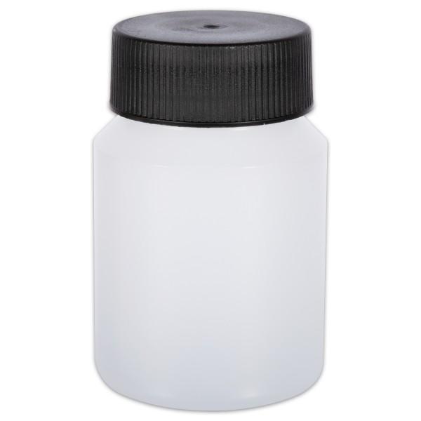 Runddose mit Deckel Kunststoff 100ml w/s