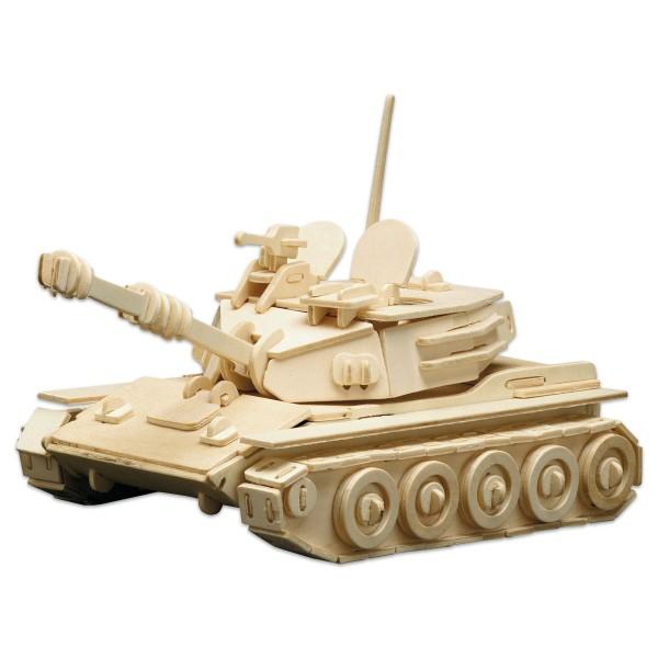 Holzbausatz Panzer 25x16cm 172 Teile vorgestanzt, zum Zusammenstecken