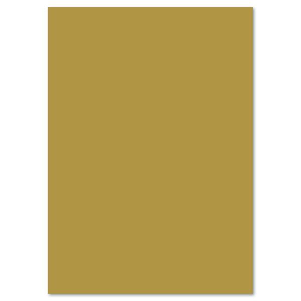 Tonkarton 220g/m² DIN A4 100 Bl. gold matt