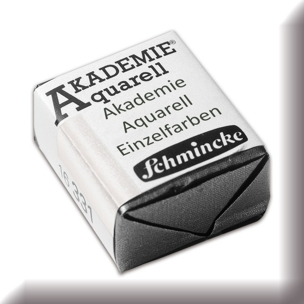 Akademie Aquarell 1,6ml deckweiß ½ Näpfchen