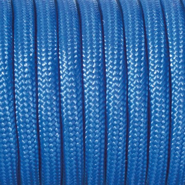 Paracord-Garn rund 4mm 4m blau Makramee-Knüpfgarn, 60% Polypropylen, 40% Polyester