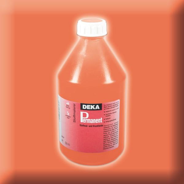 Deka-Permanent Stoffmalfarbe 500ml orange
