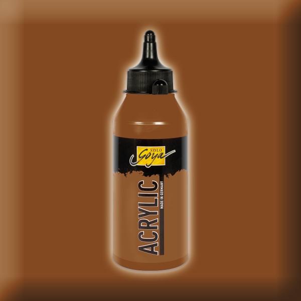 SOLO GOYA Acrylic 250ml oxydbraun dunkel Acrylfarbe